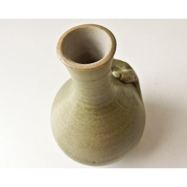 Mini Bud Vase with Hand in Celadon - Image 6 of 8
