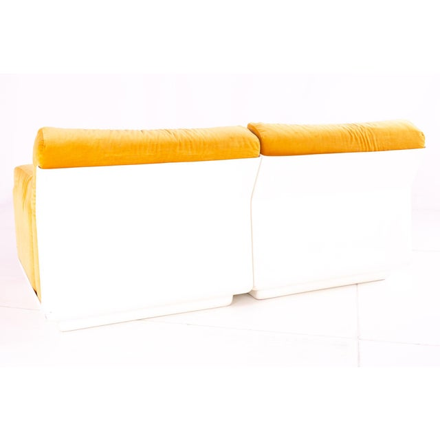 Jack Cartwright for Founders Mid Century Sectional Fiberglass Sofa For Sale In Chicago - Image 6 of 13