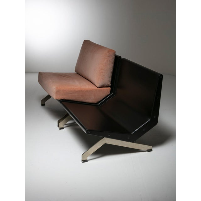1960s Pair of Lounge Chairs by Gianni Moscatelli for Formanova For Sale - Image 5 of 7