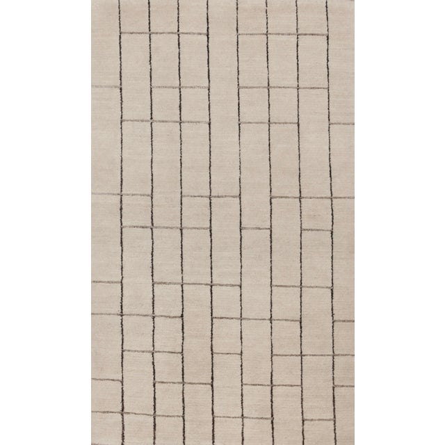 Laura Kirar Blipmarks Wool Rug - 3' X 5' For Sale - Image 4 of 4