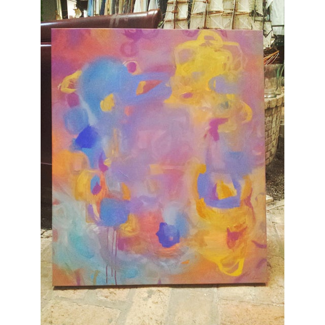 Contemporary Print of Abstract Painting Daydreams - Image 2 of 3