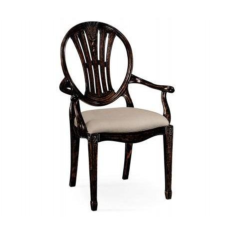 Jonathan Charles Hepplewhite Wheatsheaf Arm Chair - Image 4 of 5