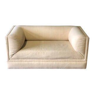Neutral Thayer Coggin Loveseat For Sale