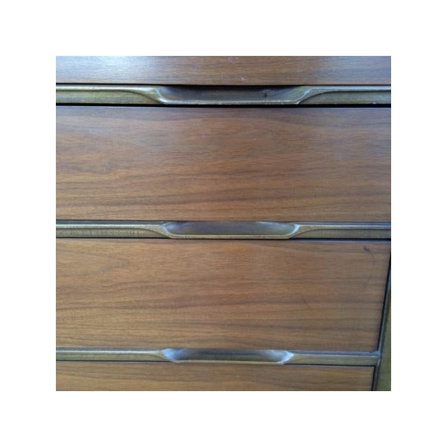 Mid-Century Modern Highboy Chest of Drawers - Image 7 of 7