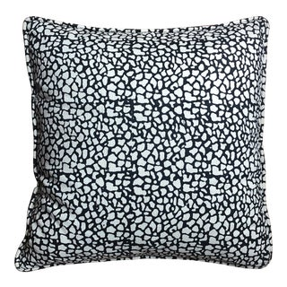 Tulu Textiles Black and White Accent Pillow For Sale