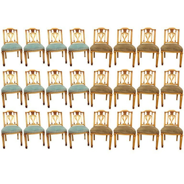 Painted Dining Chairs - Set of 24 For Sale - Image 13 of 13