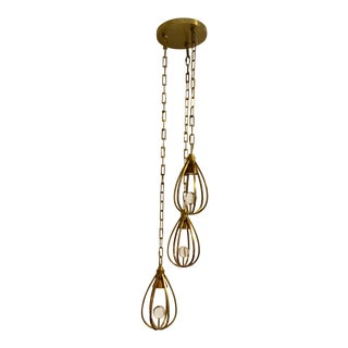 Arteriors Atheneum Fixed Chandelier For Sale