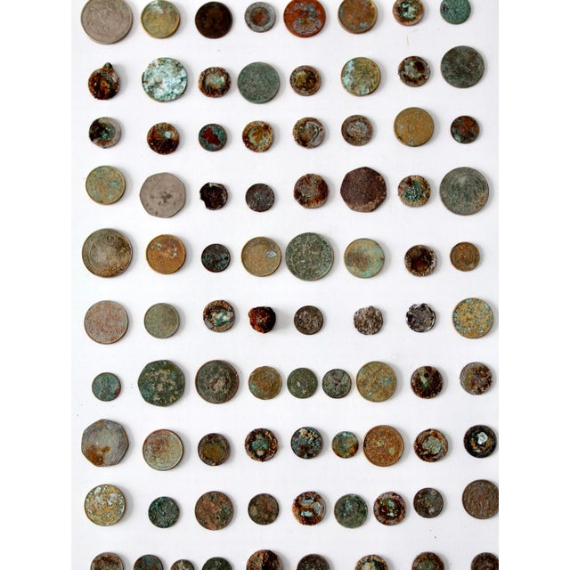 Vintage Oxidized Coin Collection For Sale - Image 10 of 11