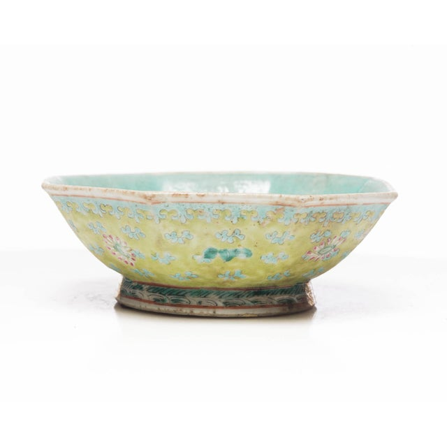 Ceramic 18th Century Chinese Famille Rose Bowl For Sale - Image 7 of 7