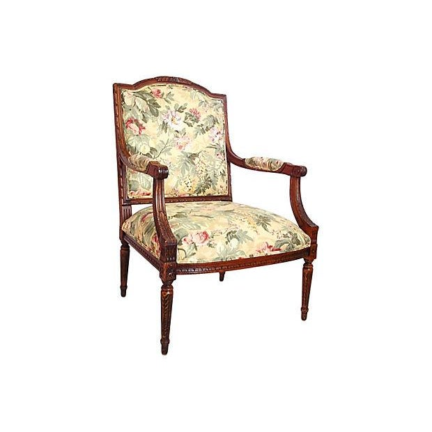 Louis XVI Style Occasional Chair - Image 7 of 7
