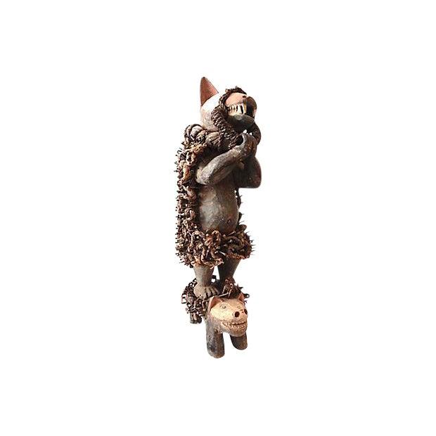 Nkisi Hyena Sculpture - Image 1 of 8