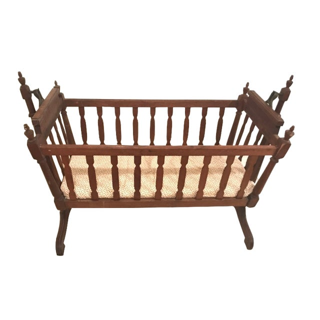 1920s 1920s Traditional Swing Crib For Sale - Image 5 of 5