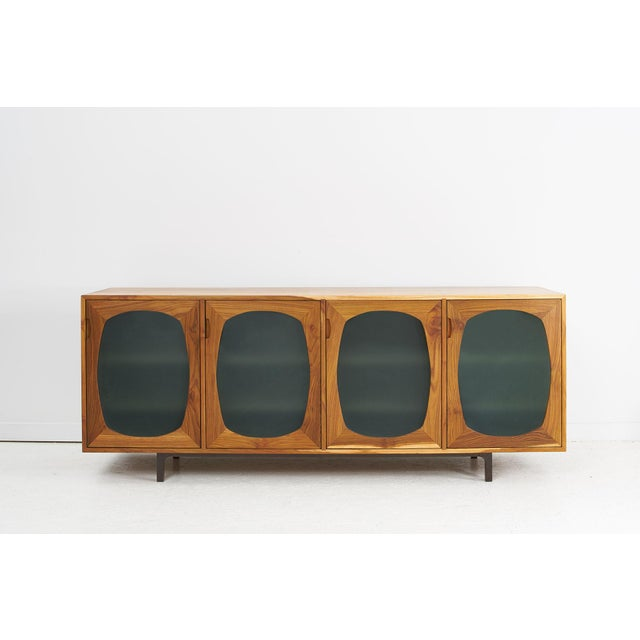2010s Akmd Collection Teak Credenza For Sale - Image 5 of 5