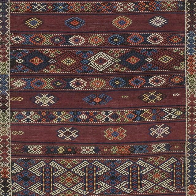 Kagizman Kilim Runner For Sale - Image 4 of 9