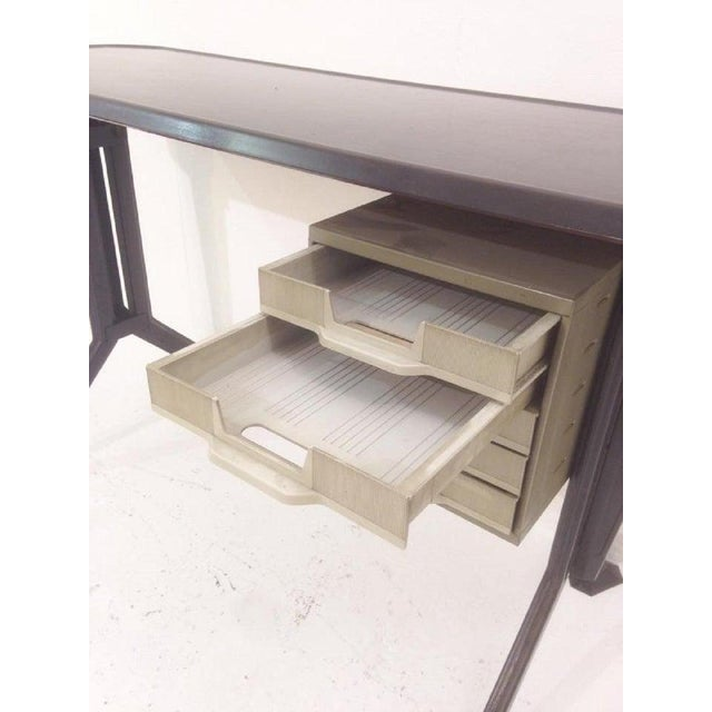Metal Desk by Studio Bbpr for Olivetti For Sale - Image 7 of 9