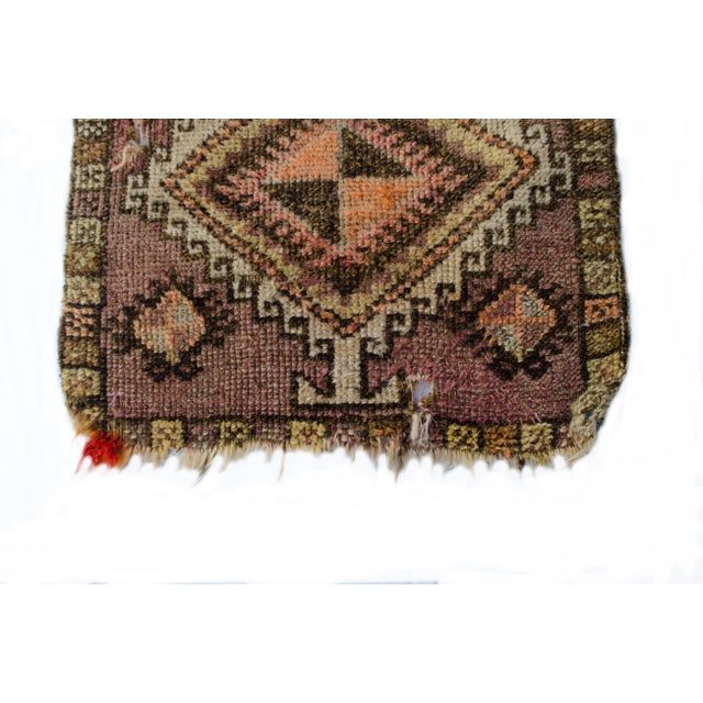 "Antique Turkish Oushak Mat - 1'5""x2'11"" - Image 5 of 6"