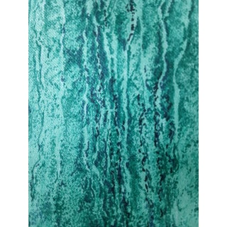 Jay Yang Vintage Green Malachite Fabric - 2 Yards For Sale