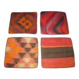 Image of Vintage Kilim Pillow Cases - Set of 4 For Sale