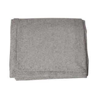 Grey Wool & Cashmere Blanket - King For Sale