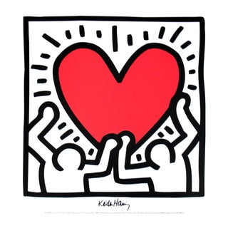 Keith Haring-Untitled (1988)-Poster For Sale