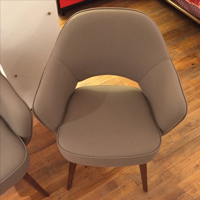 Knoll Saarinen Executive Armchairs - A Pair - Image 6 of 6