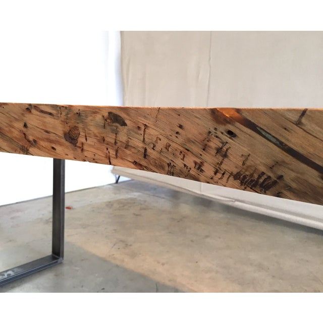 Ojai Stone Pine Live Edge Dining Table - Image 4 of 6