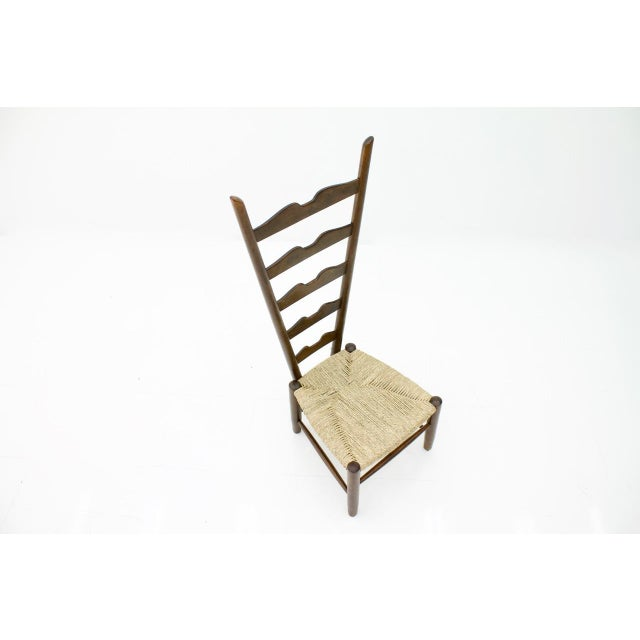 Gio Ponti Fire Side Chair, Italy, 1939 For Sale - Image 10 of 11
