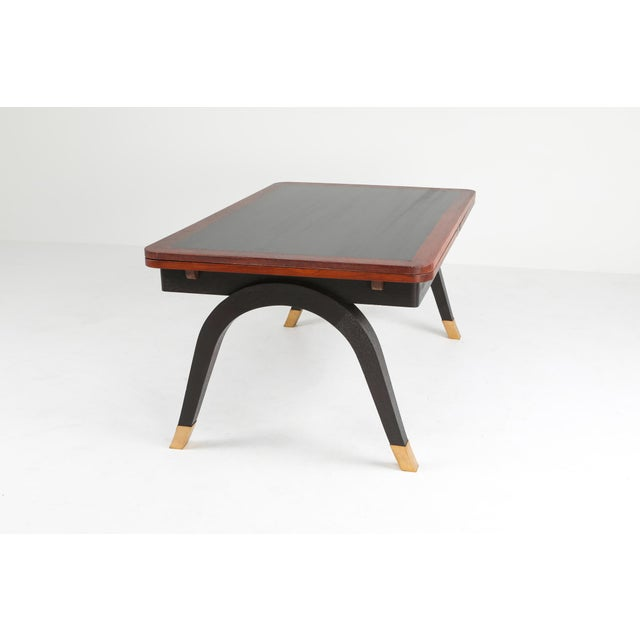Art Deco Extendable Dining Table For Sale - Image 6 of 11