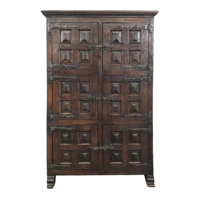 19th Century Spanish Cabinet For Sale