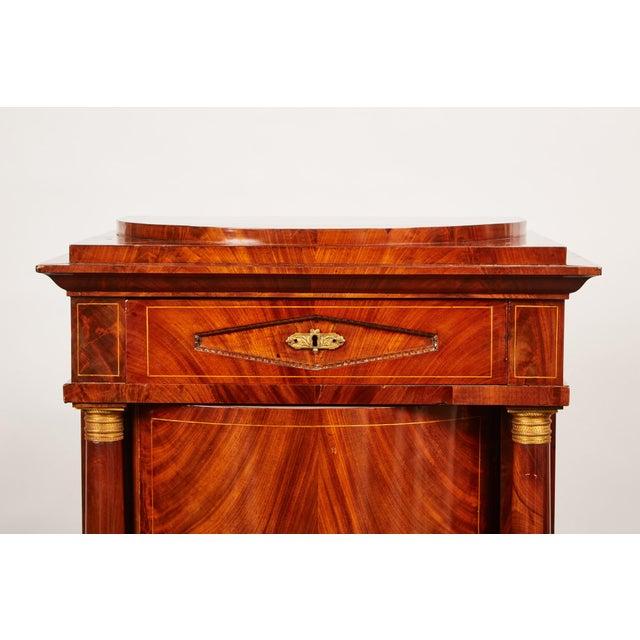 Empire 19th Century Danish Mahogany Empire Cabinet For Sale - Image 3 of 11