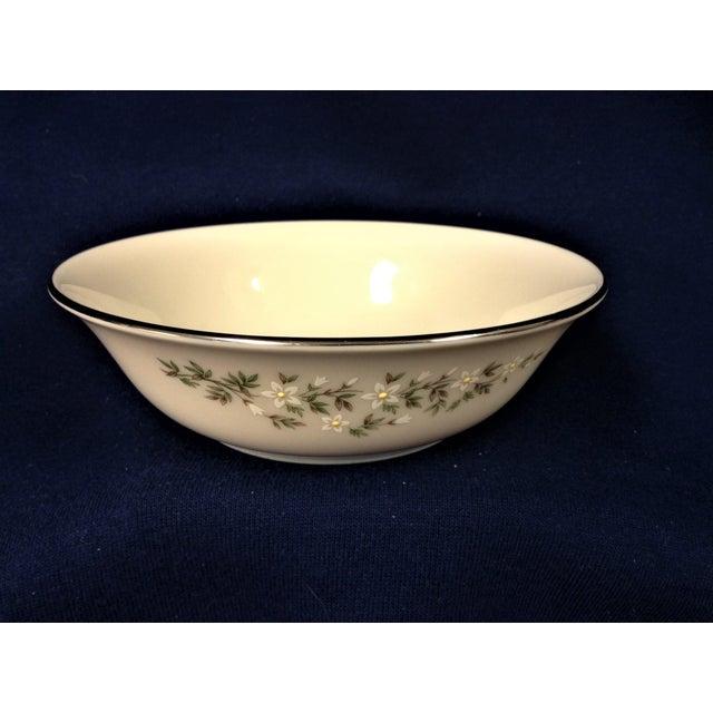 1900s 1990s Traditional Lenox Brookdale Desert/Fruit Bowls - Set of 8 For Sale - Image 5 of 5