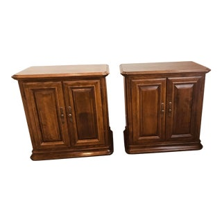 Ethan Allen Classic Manor Night Tables - a Pair For Sale
