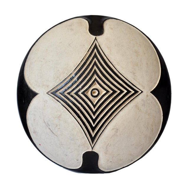 Wood Vintage African Zulu Shield For Sale - Image 7 of 7