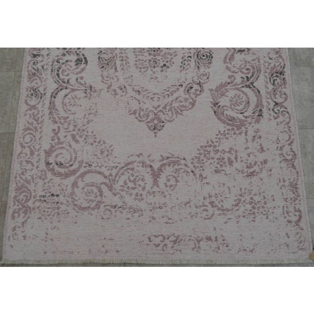 Purple Overdyed Turkish Rug - 3′11″ X 5′11″ - Image 7 of 9