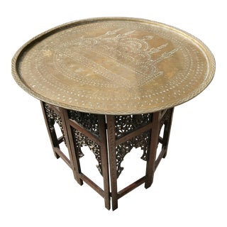 1960s Morrocan Serving Table For Sale