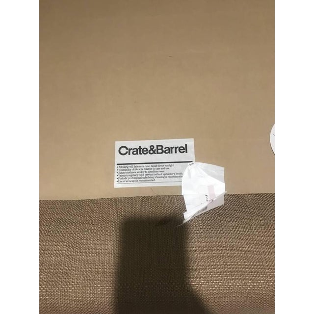 Crate & Barrel Crate & Barrel Sectional Sofa For Sale - Image 4 of 11