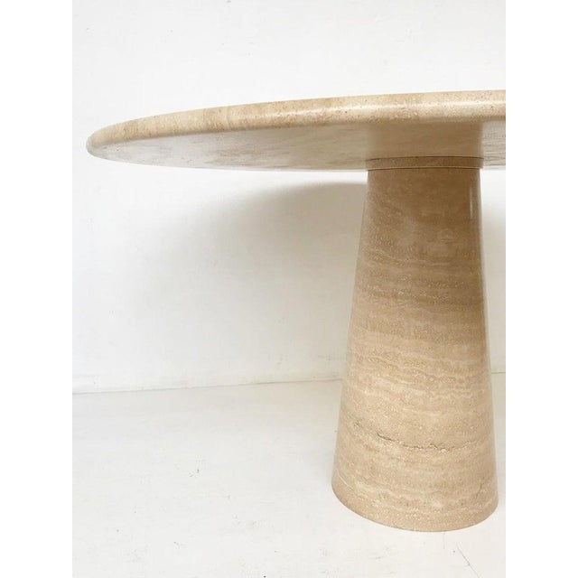 1970s Dining Table in Style of Angelo Mangiarotti For Sale - Image 5 of 6