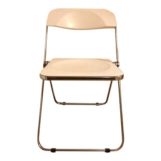 Giancarlo Piretti Plia Folding Chair For Sale