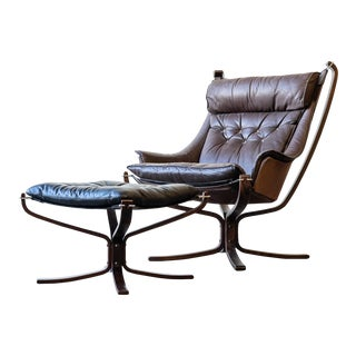 Falcon Chair Set by Sigurd Resell for Vatne Møbler For Sale