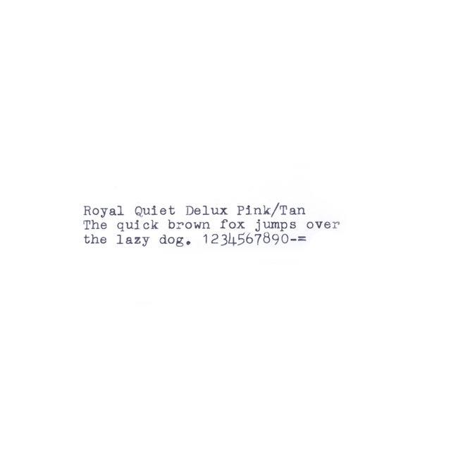 Royal Quiet DeLuxe Typewriter - Image 7 of 7