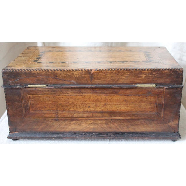 Tunbridge Ware Sewing Box - Image 5 of 9