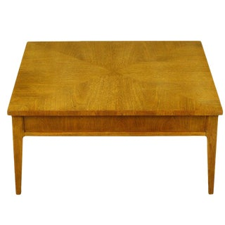 Michael Taylor for Baker New World Mahogany Coffee Table For Sale