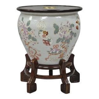 Drexel Heritage Ming Treasures Porcelain Urn Pedestal Dining Table Base
