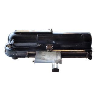Vintage Black Protectograph Check Writer For Sale