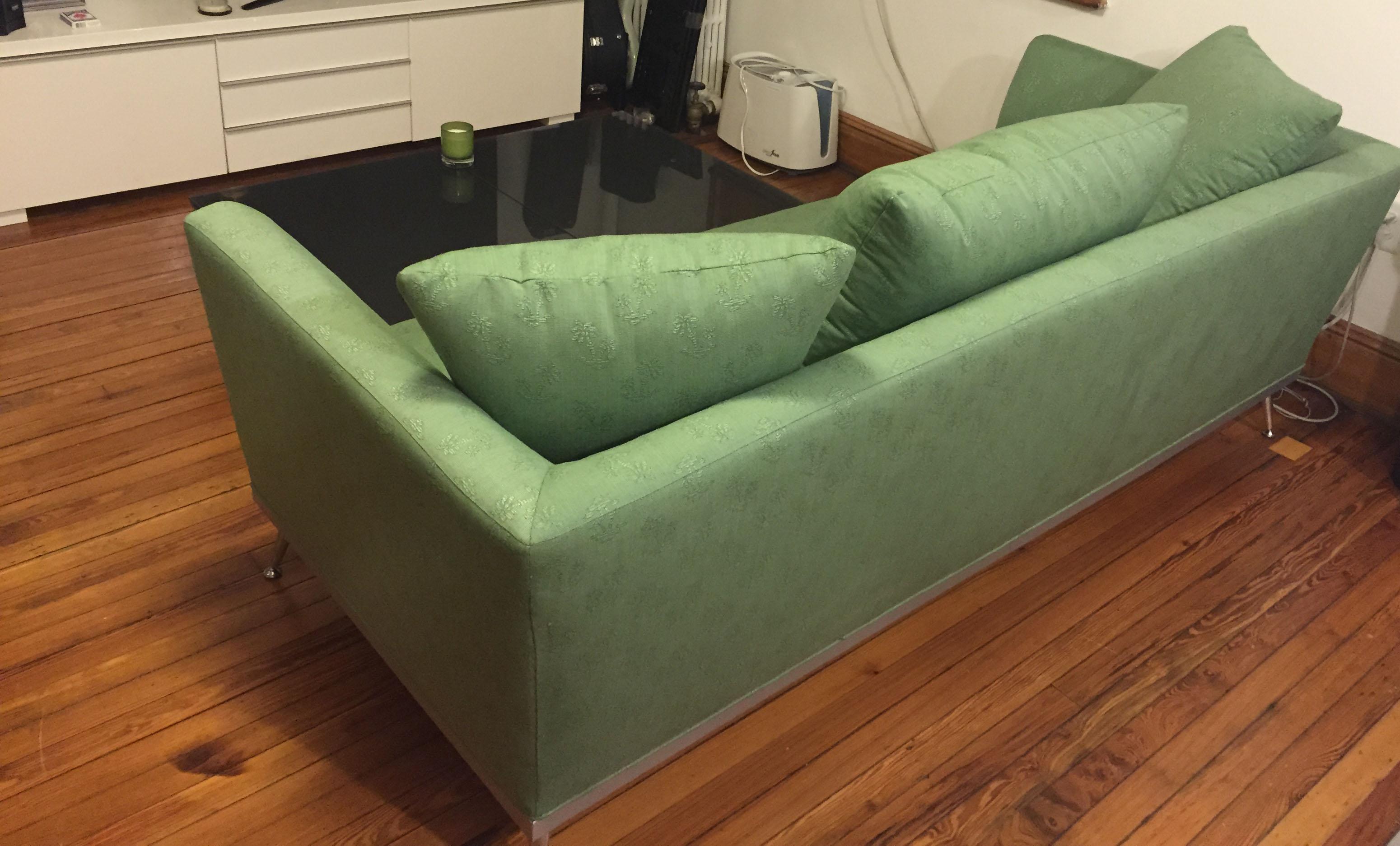 Green Ligne Roset Sofa   Image 4 Of 5