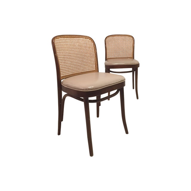 Josef Hoffmann for Thonet Chairs - A Pair - Image 1 of 4