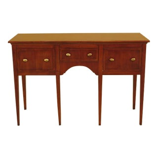 Hekman 3 Drawer English Style Sideboard For Sale