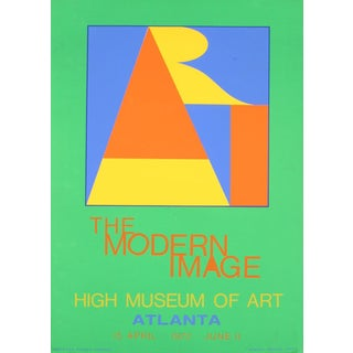 Robert Indiana_Atlanta-Art_1972_Serigraph For Sale