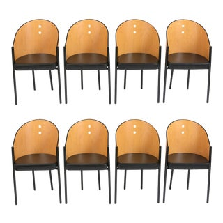 Set of Barrel Back Chairs For Sale