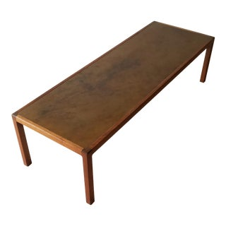 Harry Lunstead Mid-Century Modern Coffee Table For Sale